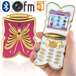 cheap cell phones Unlocked Butterfly Shaped Mobile