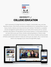 Premium University | Education Responsive WordPress Theme